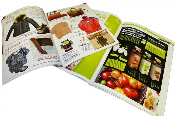 Magazine, Catalogue Ouvert